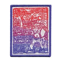 Sublime Men's FSP Embroidered Patch White