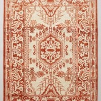 Hand-Knotted Arasta Rug by Anthropologie