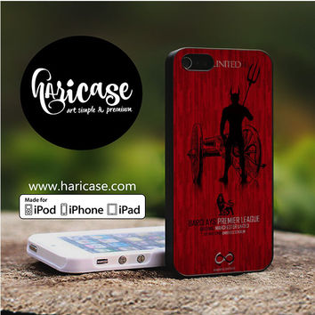 Manchester United Blp iPhone 5 | 5S | SE Cases haricase.com