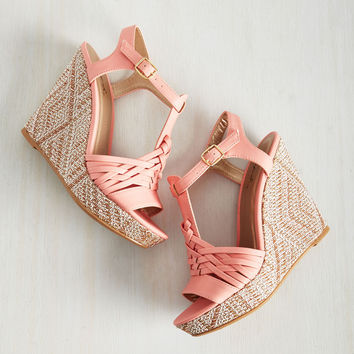Froyo, What's Up! Wedge | Mod Retro Vintage Heels | ModCloth.com