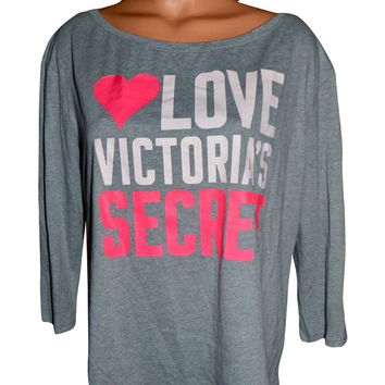 "Victoria's Secret ""LOVE VICTORIA'S SECRET"" T Shirt"
