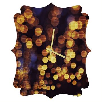 Shannon Clark Enchanted Quatrefoil Clock