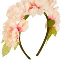 Chrysanthemum Flower Garland - Hair Accessories - Bags & Accessories - Topshop USA