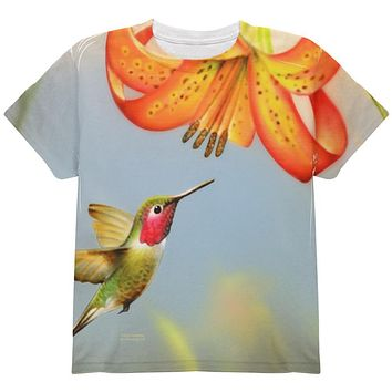 Always Be Yourself Unless Humming Bird All Over Youth T Shirt