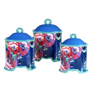 Tracy Porter For Poetic Wanderlust 'Reverie' Canisters - Blue (3-Piece Set)