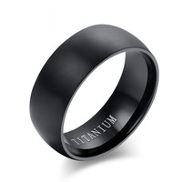 Titanium Men's Engagement Ring