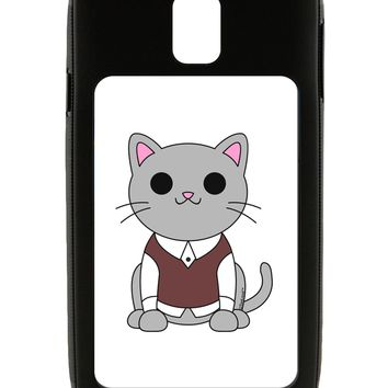 Cute Sweater Vest Cat Design Galaxy Note 3 Case  by TooLoud