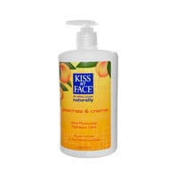 Kiss My Face Ultra Moisturizer Peaches And Creme - 16 Fl Oz