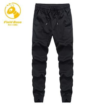 Field Base Jogger Pants Men Fitness Bodybuilding Gyms Pants For Runners Brand Clothing Autumn Sweat Trousers Sportswear Top Sell