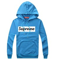 Supreme Women Men Fashion Casual Top Sweater Pullover Hoodie-51