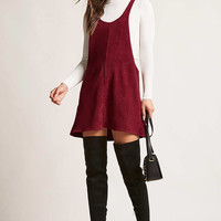 Corduroy Scoop Neck Dress