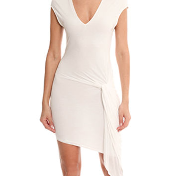 Helmut Lang V-neck Dress