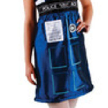DOCTOR WHO TARDIS DRESS SM MD