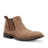 Wear the Pants Sueded Ankle Boot