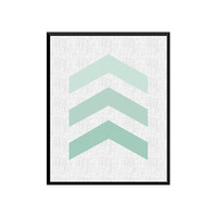 Printable Art,Chevron Print,Geometric Print, Geometric Art, Modern Art Print, Geometric Wall Art, Wall Decor, Arrow Print, digital Download
