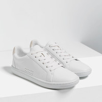 PLIMSOLLS WITH LACES