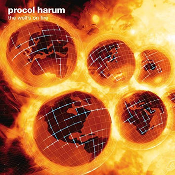 Procol Harum - The Well's On Fire LP