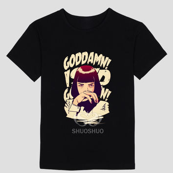 Pulp Fiction G**Damn T Shirts