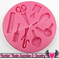 Beauty HAIR DReSSER SILICONE MOLD Food Grade