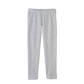 Jumping Beans Foil Dot Leggings   Girls