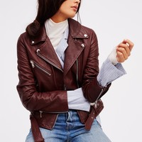 Free People Belted Moto