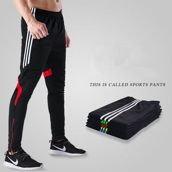 Men Running Gym Sport Fitness Workout Leggings