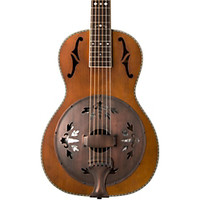 Washburn R360K Parlor Resonator Guitar with 1930's Style Inlay | GuitarCenter