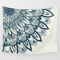 Mandala Wall Tapestry by Rskinner1122