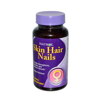 Natrol Skin Hair Nails - 60 Capsules