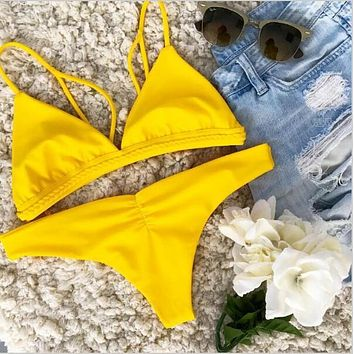 New Arrival Summer Hot Beach Swimsuit Sexy Bikini [11541928975]