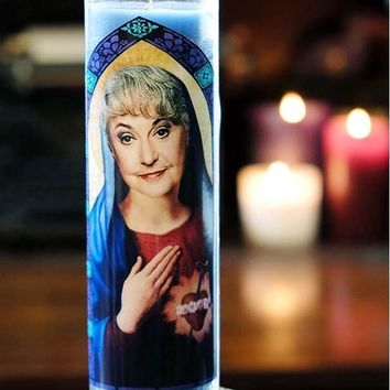 The Golden Girls Saint Dorothy Prayer Candle