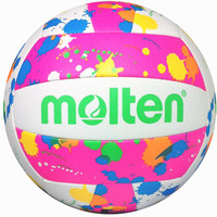 Midwest Volleyball Warehouse - Molten Camp Neon Splatter Volleyball