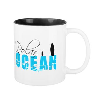 Polar Ocean Two-Tone Coffee Mug