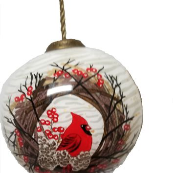 Berries & Branches Christmas Ornament