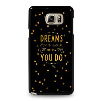 KATE SPADE QUOTE Samsung Galaxy Note 5 Case Cover