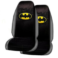 A Set of 2 Universal Fit Batman Seat Covers