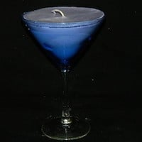 Classic and Relaxing Lavender in Martini Glass Perfect Gift Handmade