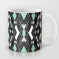 Art Deco Mint Mug by Project M
