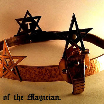 Crown Of The Magician Magick Crowley Occult Wicca