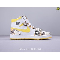 Nike Air Jordan 1 Retro High OG AJ1 Fashion Men Basketball Shoes Sneakers 4#