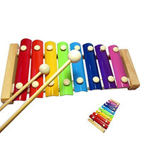 Emotionlin® Baby Music Perception 1-2-3 - year - old harp baby toys small Xylophone Eight Hand Knock