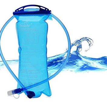 Outdoor Sports Water Bag Portable Eco Friendly Water Bottle Foldable Bag