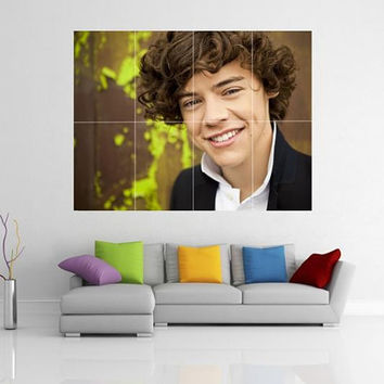 Harry Styles One Direction 1D Giant Wall Art Picture Poster