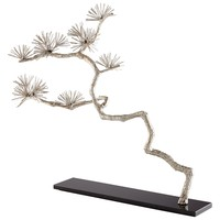 Holly Tree Silver Leaf Tabletop Sculpture by Cyan Design