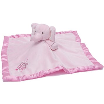Walmart: Stepping Stones Girls' Elephant Plush Security Blanket, Pink