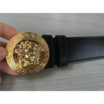Versace Black Medusa Belt