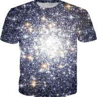 Tight Cluster Galaxy Messier 69 | Universe Galaxy Nebula Star Clothes | Rave & Festival Shirt