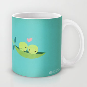 Two Peas in a Pod Mug by Rosy Designs