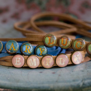 Wrap Bracelet -Personalized -Name
