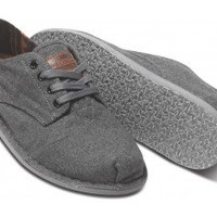 Grey Wool Men's Desert Oxfords | TOMS.com